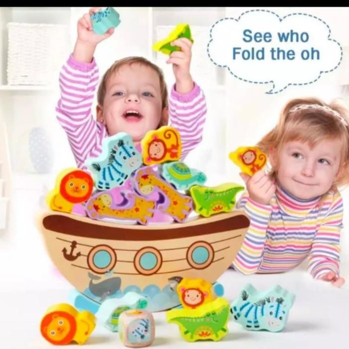Foto Produk Mainan anak perahu keseimbangan Hewan/Balance Animal ship dari AUTO KID II