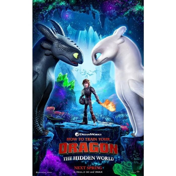 Jual Dvd Film How To Train Your Dragon The Hidden World 2019 Kab Kediri Galaxy Film Tokopedia