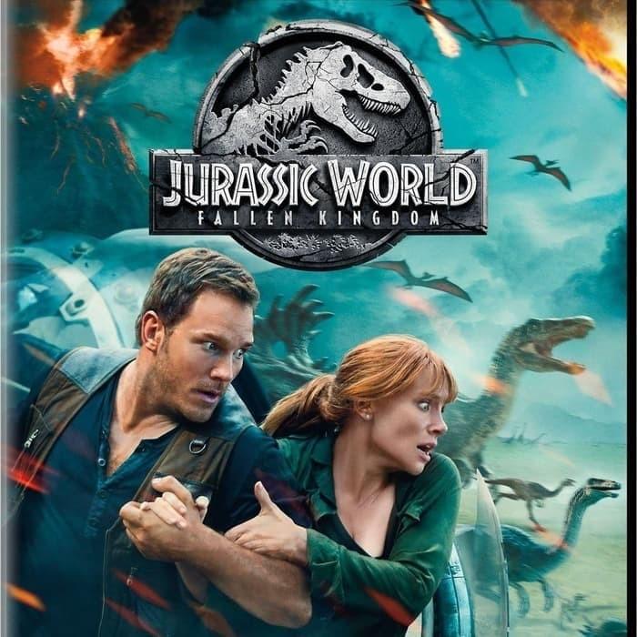Jual Dvd Film Jurassic World Fallen Kingdom 2018 Kab Kediri Galaxy Film Tokopedia