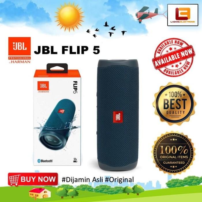 Jual Jbl Flip 5 Waterproof Portable Bluetooth Speaker Original Berkualitas Kab Lampung Tengah Jamilahgaleri2030 Tokopedia