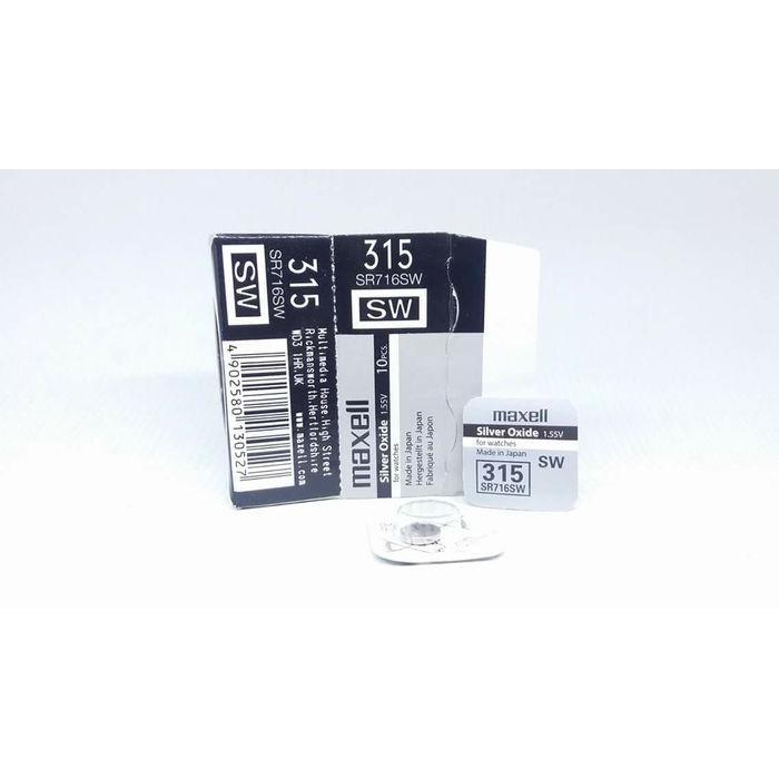 Foto Produk Baterai Maxell 315 317 716 516 SR716SW SR516SW SR716 SR516 ORIGINAL - 315-716 dari grojam