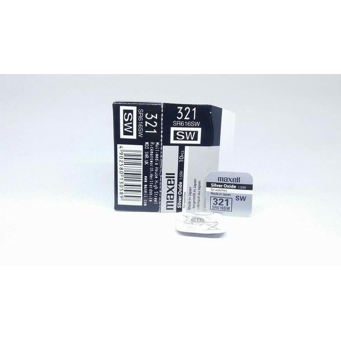 Foto Produk Baterai Maxell 321 362 721 616 SR721SW SR616SW SR721 SR616 ORIGINAL - 321-616 dari grojam