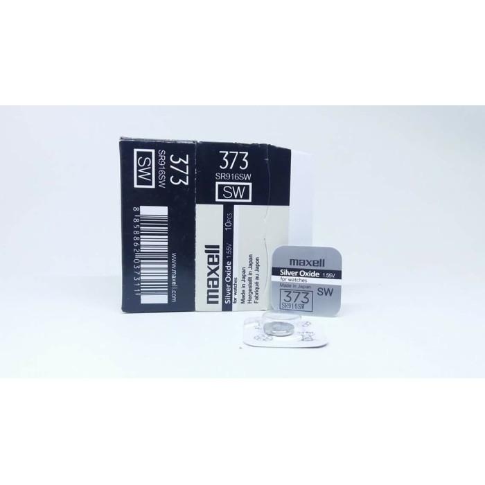 Foto Produk Baterai Maxell 373 379 916 521 SR916SW SR521SW SR916 SR521 ORIGINAL - 373 dari grojam