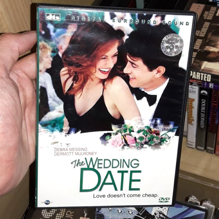 Jual Dvd The Wedding Date Kota Surabaya Filmsip Tokopedia