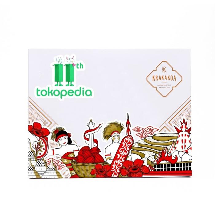Foto Produk Edisi Spesial Kemerdekaan - Cinnamon, Ginger, Chilli Chocolate Bar dari Krakakoa Official