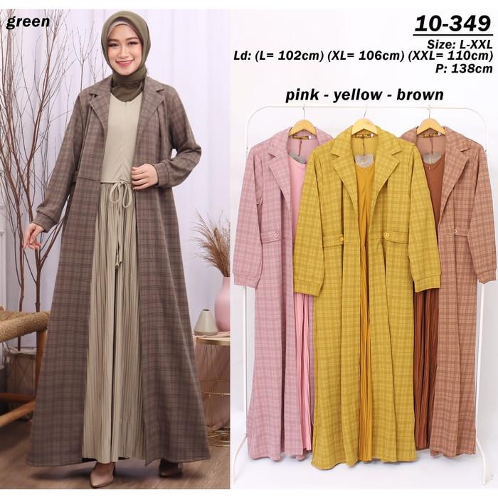 Jual Baju Gamis Hijab Gamis Kaos Import Kotak Terbaru Kuning Xl Jakarta Utara Hemat Waktu Fashion Tokopedia