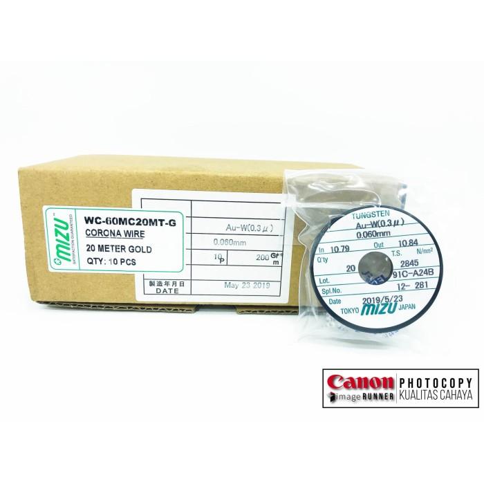 Foto Produk Corona Wire 20m gold Mizu 0.06mm Kualitas terbaik dari Kualitas Cahaya