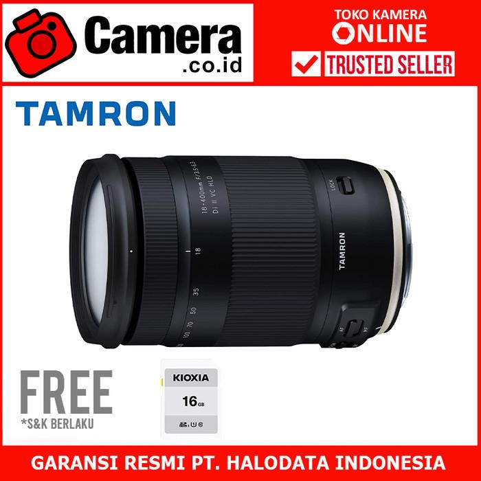 Foto Produk TAMRON 18-400mm f/3.5-6.3 Di II VC HLD (Canon) dari camera.co.id