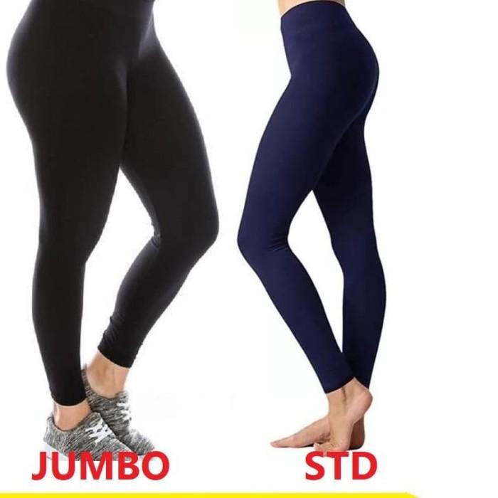 Jual Termurah Celana Legging Spandex Basic Polos Ukuran Standar Dan Jumbo Standar Putih Jakarta Barat Supplierfashionindonesia Tokopedia