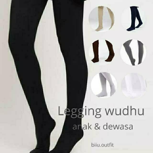 Jual Legging Wudhu Dewasa Legging Bahan Kaos Premium Jakarta Selatan Karlenamarket Tokopedia