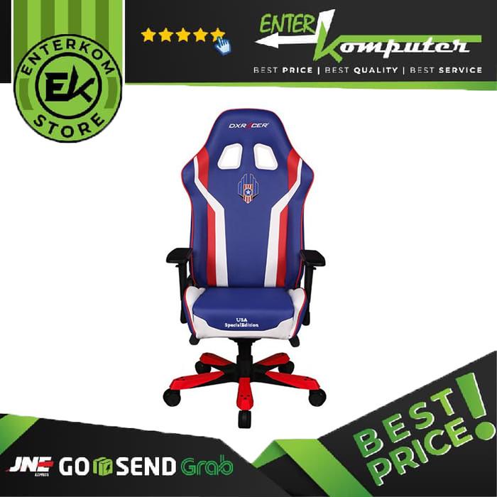 Foto Produk DX Racer Drifting Series GC-K186-IWR-H3 - USA Edition dari Enter Komputer Official