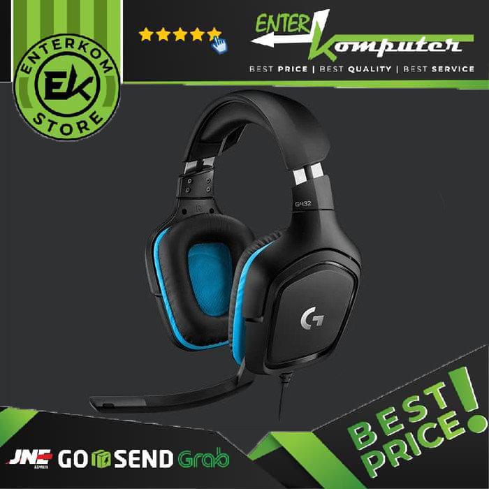 Foto Produk Logitech G431 Gaming Headset dari Enter Komputer Official
