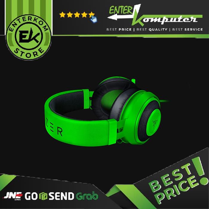 Foto Produk Razer Kraken - Multi-Platform Wired Gaming Headset - (Black/Green) dari Enter Komputer Official