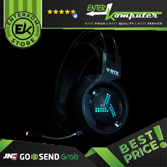 Foto Produk NYK Headset Gaming HS-N07 dari Enter Komputer Official