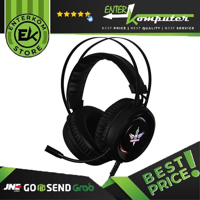 Foto Produk NYK Headset Gaming HS-N09 dari Enter Komputer Official