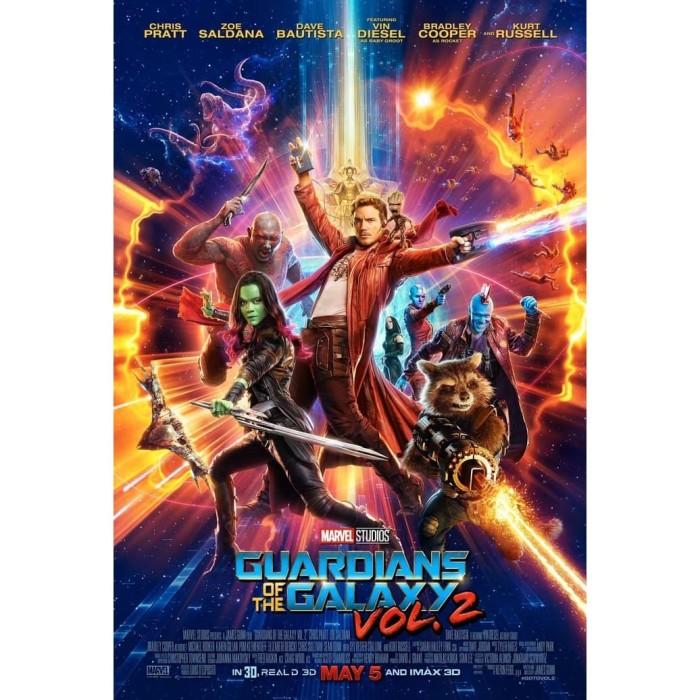 Jual Dvd Film Guardians Of The Galaxy Vol 2 2017 Kab Kediri Galaxy Film Tokopedia