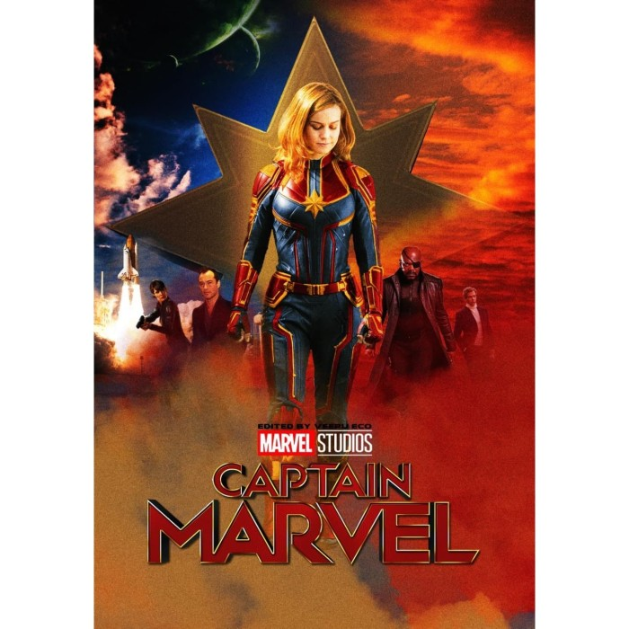 Jual Dvd Film Captain Marvel 2019 Kab Kediri Galaxy Film Tokopedia