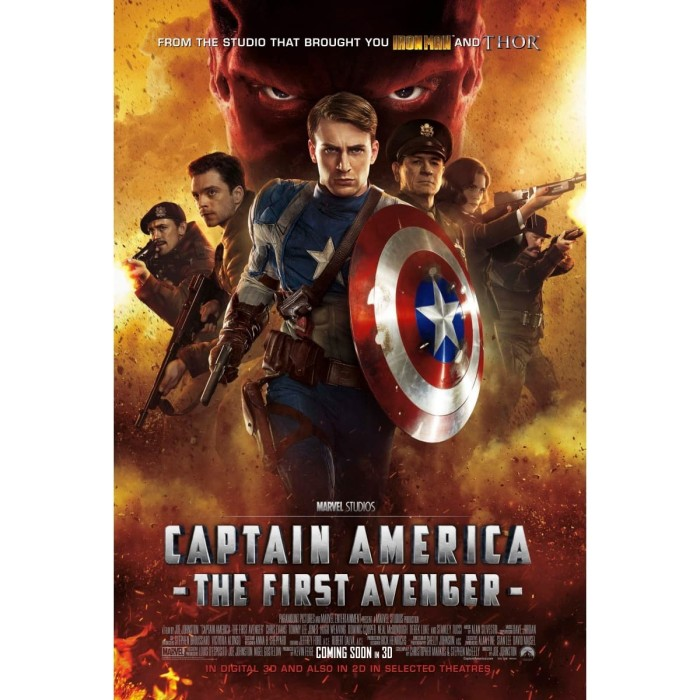 Jual Dvd Film Captain America The First Avenger 2011 Kab Kediri Galaxy Film Tokopedia