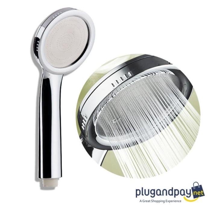 Foto Produk Kepala Shower Minimalis Aerator Mandi 001 dari plugandpay