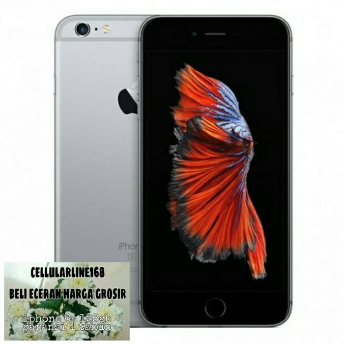 Foto Produk Iphone 128Gb 6S Space Grey Garansi Distributor 1 Tahun dari cellularline168