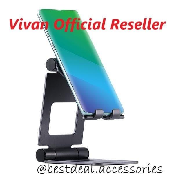 Foto Produk Vivan VH01 Universal Phone Desk Holder Stand Smartphone Tablet iPad dari bestdeal official