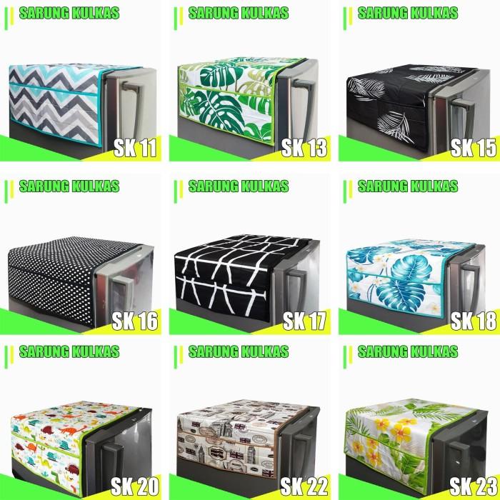 Foto Produk Sarung Kulkas / Cover Kulkas dari pondok aren shop