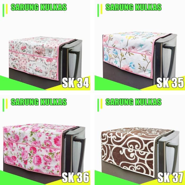 Foto Produk Cover Kulkas / Sarung Kulkas dari pondok aren shop