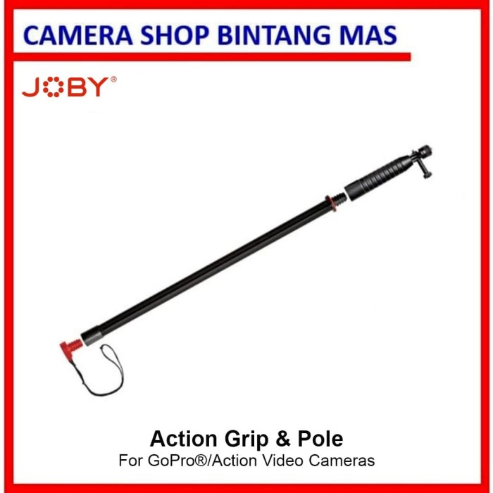Foto Produk Joby Action Grip and Pole Pack for GoPro/Action Cameras dari Camera Shop Bintang Mas