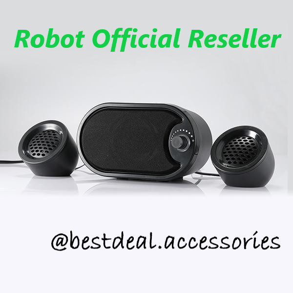 Foto Produk Robot RS170 USB Multimedia Speaker Komputer Stereo with LED dari Bestdeal Accessories