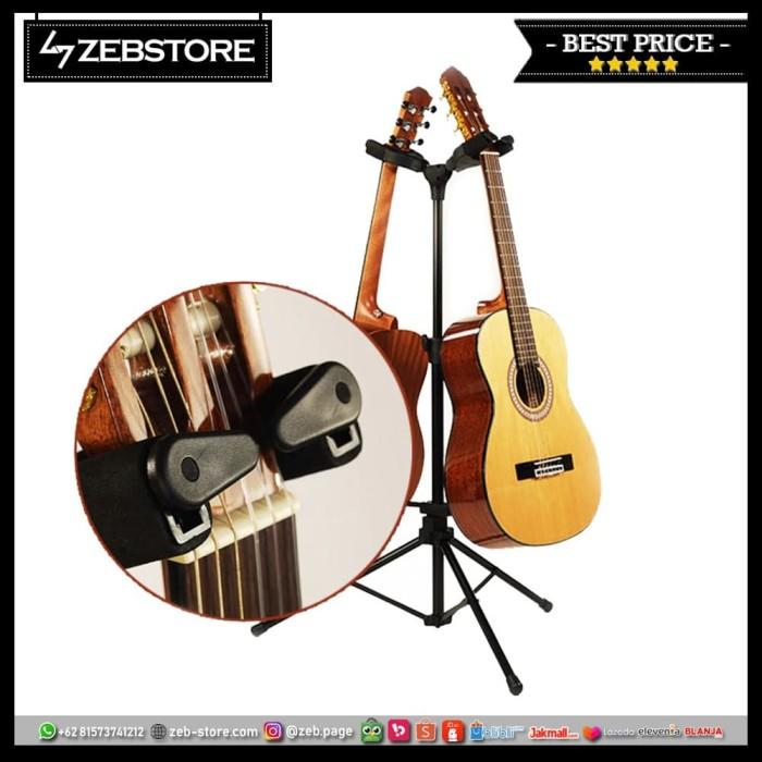 Foto Produk Stand Gitar Double Standard dari Zeb Hobbies Store