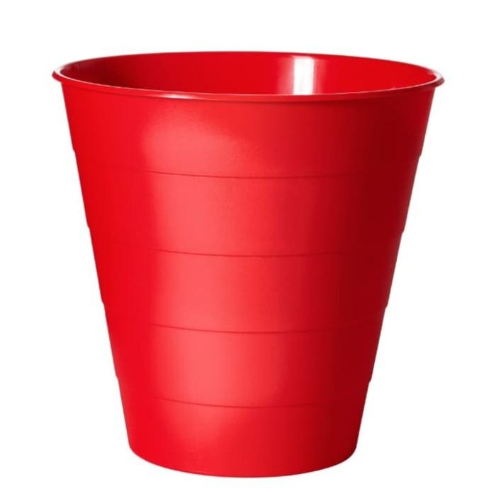 Foto Produk Fniss Merah / Tempat Sampah Merah IKEA - Putih dari julisa07