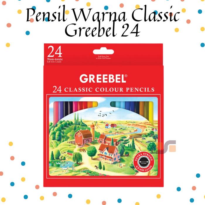Foto Produk Color Pen Pensil Warna Anak Greebel Classic 24 Warna Harga ATK dari safanabiz