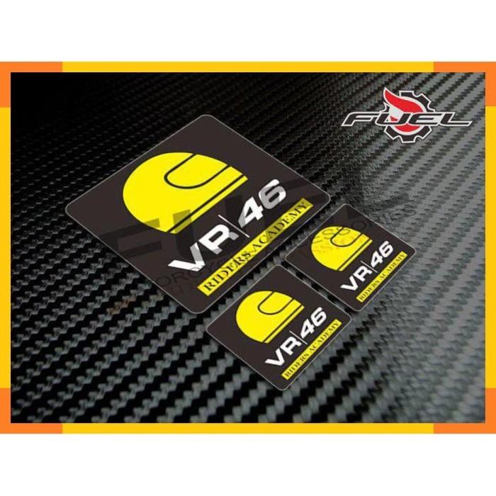 Jual Xzt Sticker Riders Academy 46 Vxxentino Rossi Agv Arai Shoei Nolan Jakarta Timur G I M Tokopedia