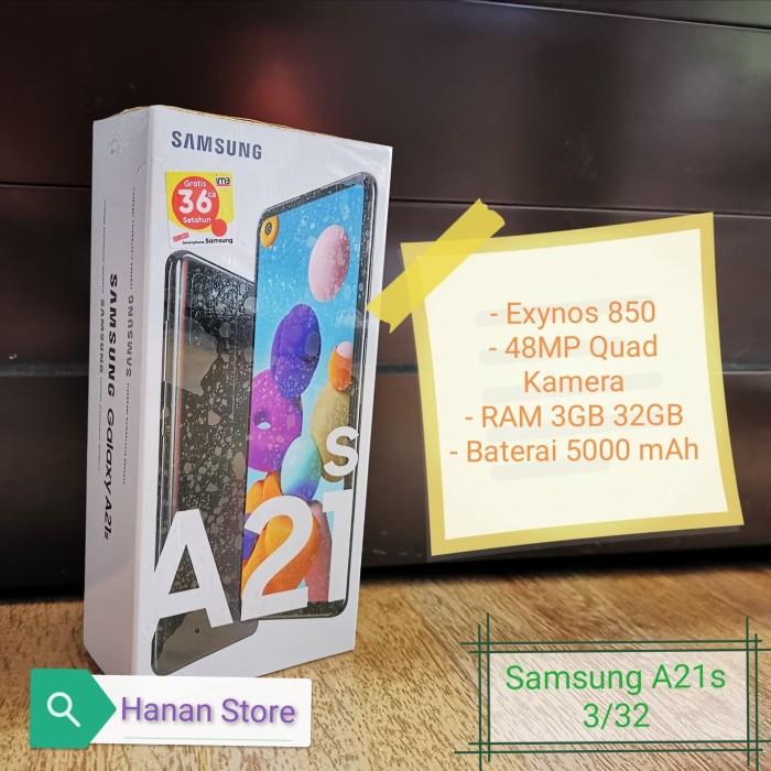 Foto Produk Samsung Galaxy A21s 3/32 Garansi Resmi - Hitam dari Hanan Store's