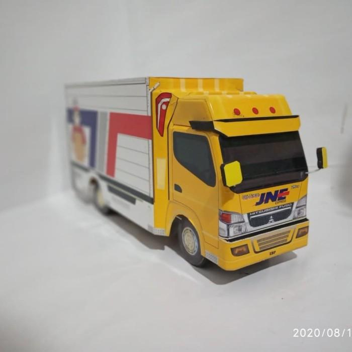 Jual Miniatur Truck Box Jne Express Kab Purbalingga Madlikun Shop Tokopedia