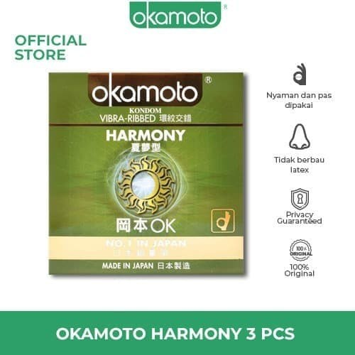 Foto Produk Kondom Okamoto Harmony Condom dari toko sayang