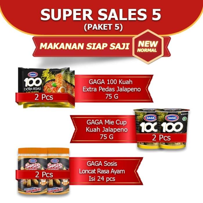 Foto Produk GAGA100 Mie Cup Kuah Jalapeno, Mie Kuah Jalapeno, Sosis Ayam (kode5) dari Gaga Official Store