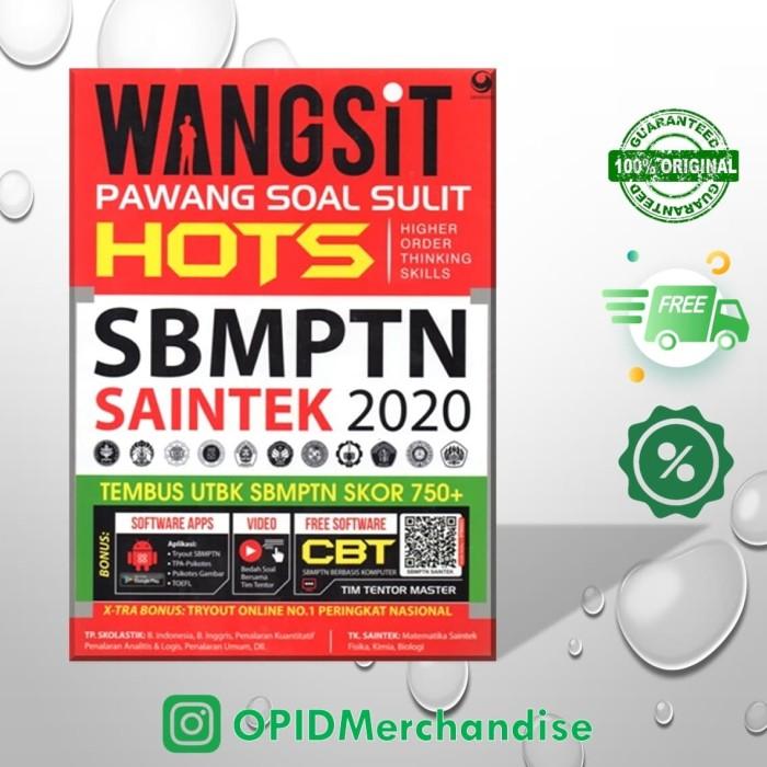 Foto Produk Buku WANGSIT (Pawang Soal Sulit) SBMPTN SAINTEK 2019-2020 dari OPID Merchandise