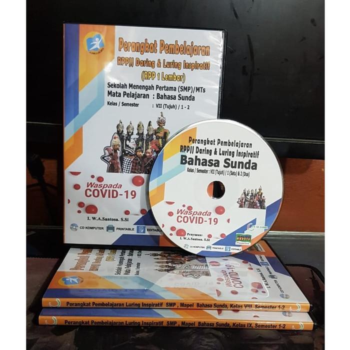Jual Rpp Jj Daring Luring Bahasa Sunda Untuk Smp Mts Kelas 7 8 9 Jakarta Pusat Toko Peci Al Balad Tokopedia