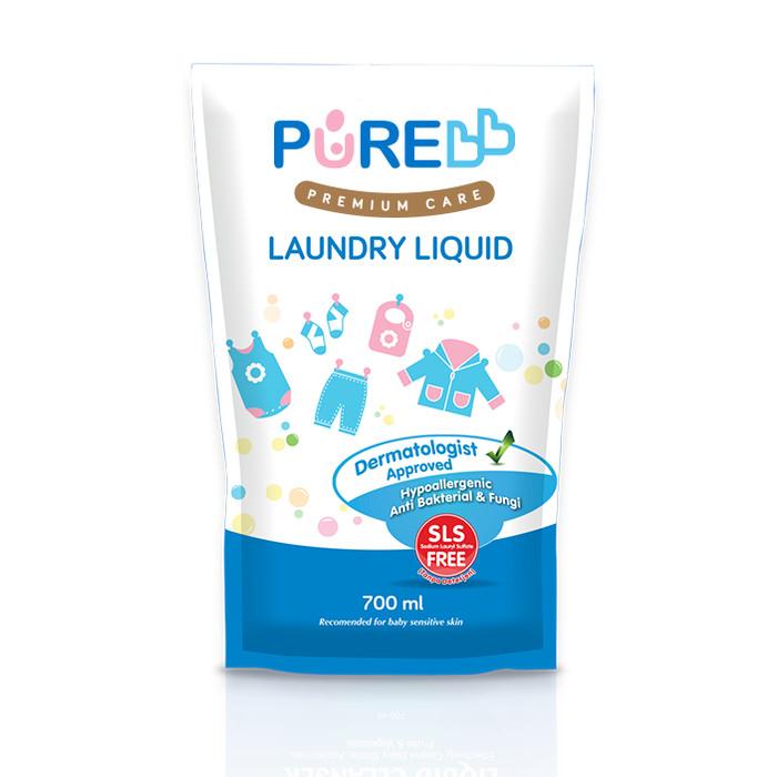 Foto Produk Pure BB Laundry Liquid Refill 700ml dari KiosCepat