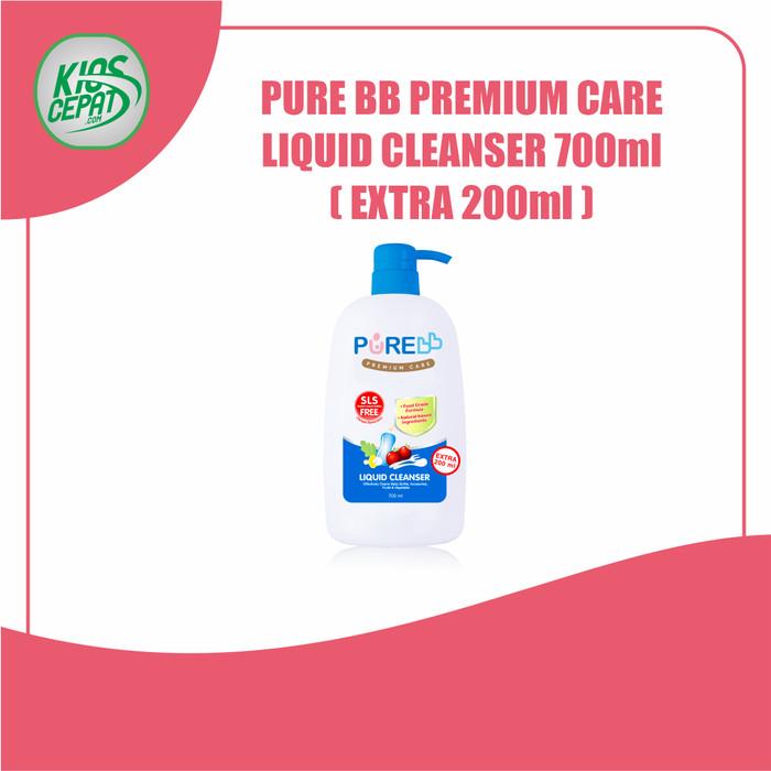 Foto Produk Pure BB Liquid Cleanser PUMP 700ml (Ekstra 200ml) dari KiosCepat