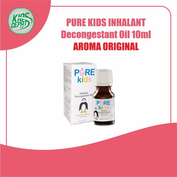Foto Produk Pure Kids Inhalant Decongestant Oil 10ml - ORIGINAL dari KiosCepat