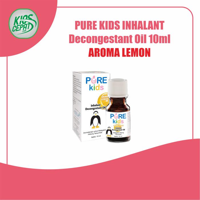Foto Produk Pure Kids Inhalant Decongestant Oil 10ml - LEMON dari KiosCepat