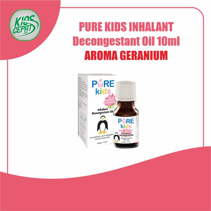 Foto Produk Pure Kids Inhalant Decongestant Oil 10ml - GERANIUM dari KiosCepat