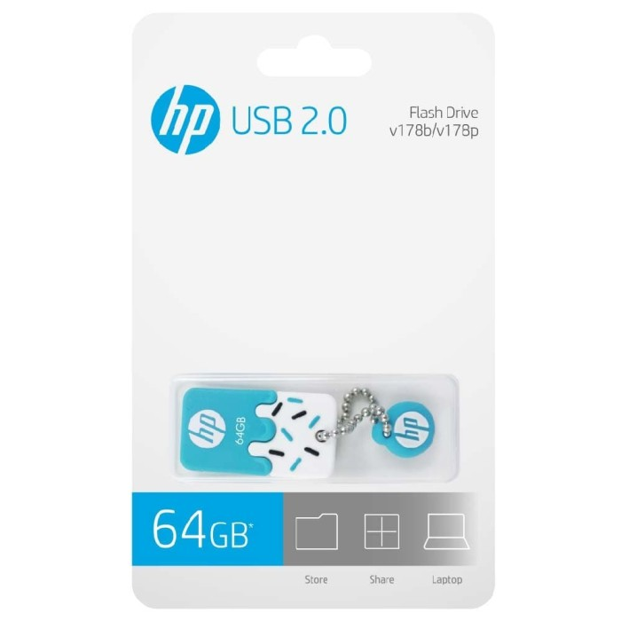 Foto Produk FLASHDISK HP V178b - 64gb dari HP Storage Official