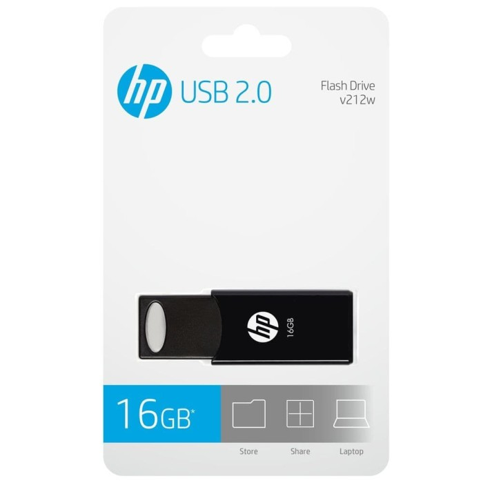 Foto Produk FLASHDISK HP V212bk - 16gb dari HP Storage Official