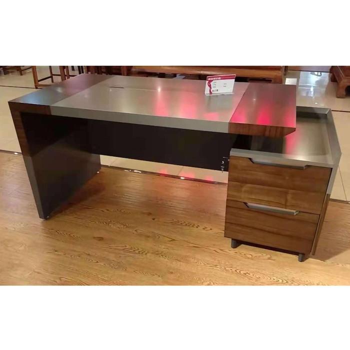 Jual Office Desk 1827 Meja Kerja Minimalis Meja Kantor Meja Karyawan Jakarta Utara Gonline Furniture Tokopedia