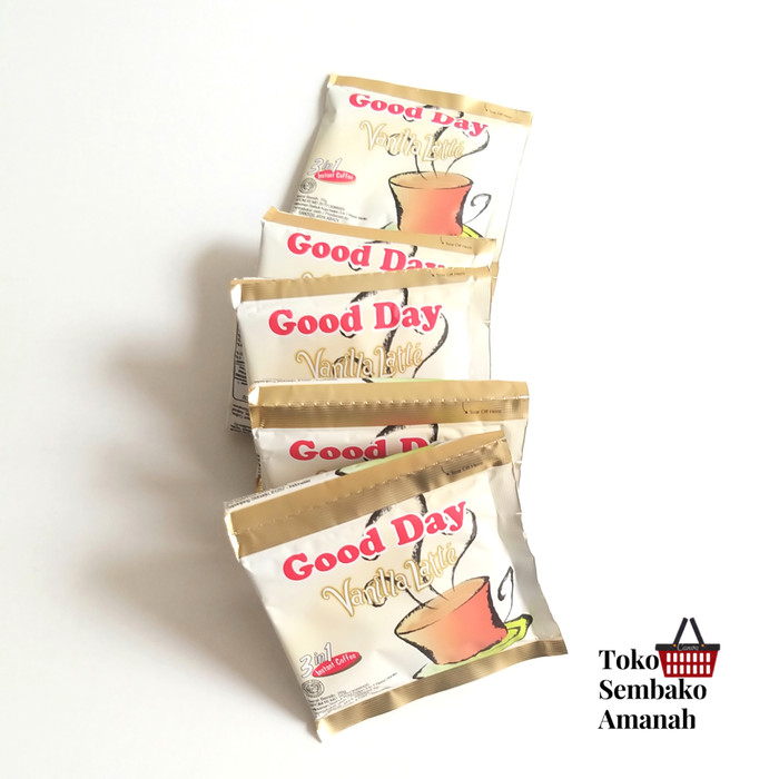 Foto Produk GoodDay Good Day Vanilla Latte 10 sachet dari Sembako Amanah20