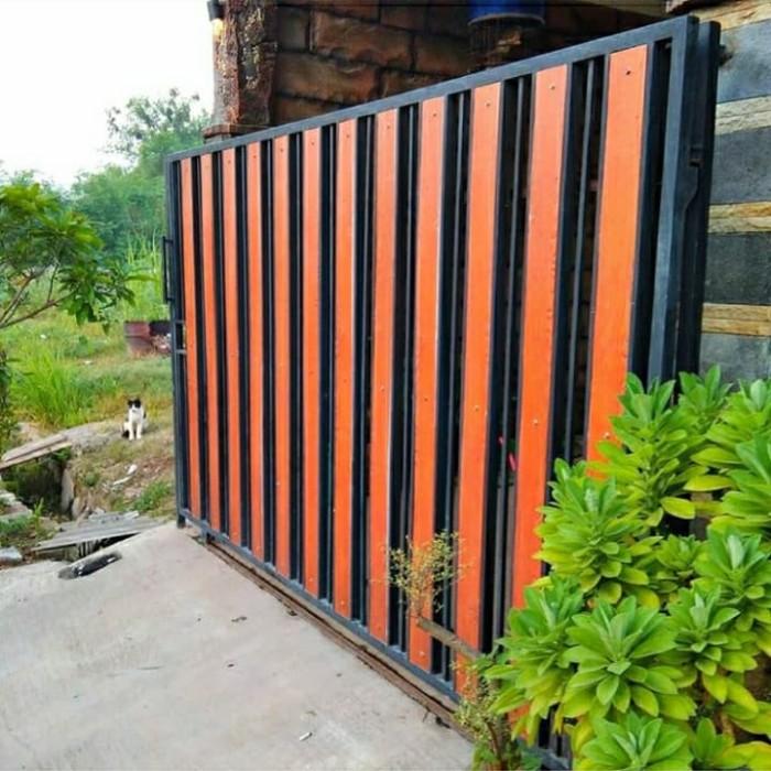Jual Pagar Minimalis Grc Renggang - Orange - Kota Depok - Nurjayalas |  Tokopedia