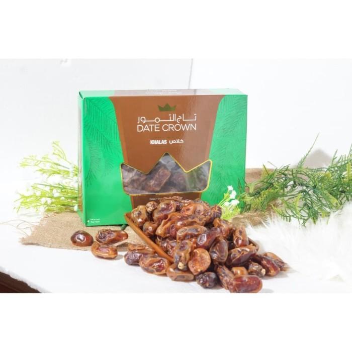 Foto Produk buah kurma date crown khalas premium 1 kg / khalas date crown / dari Gudang Grosir Herbal
